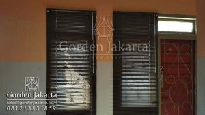 Jual Venetian Blinds Deluxe Slatting Sharp Point Blinds Id