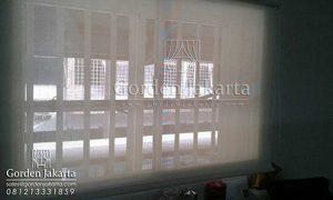 jual roller blinds solar screen warna beige Sp 4000 - 1