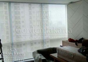 Roller Blinds Solar Screen Warna Putih by Blinds.id
