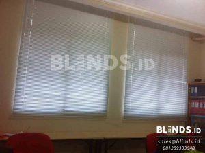 slimline blinds merk onna bahan standard slat 25mm