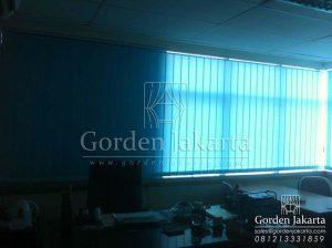 harga vertical blind kantor Sp. 8003-4 blue per meter