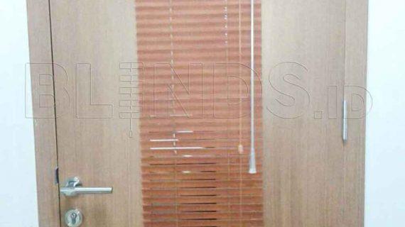 Harga Venetian Blinds Wood Motive Slatting Untuk Klien Di Cipete
