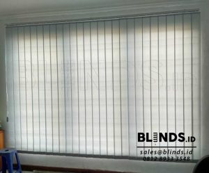 Harga Vertical Blinds Dimout Sp. 8007-6 Grey Di Modernland Q3614
