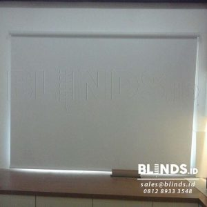Jual Roller Blinds Blackout Superior Sp. 6045-10 White Di Kembangan Q3618