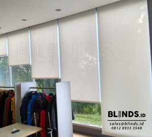 Roller Blinds Solar Screen Sp 2.600 - 2 White+white Q3576