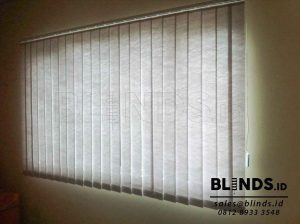 Vertical Blinds Semi Blackout Sp. 8370 - 6 Grey di Bekasi Q3669