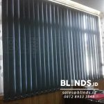 Contoh Vertical Blinds Blackout Warna Grey Di Tanjung Priok