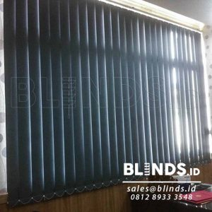 contoh vertical blinds blackout Sp. 6044-3 Grey di Tanjung Priok Q3632