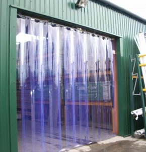 strip curtain pvc untuk industri