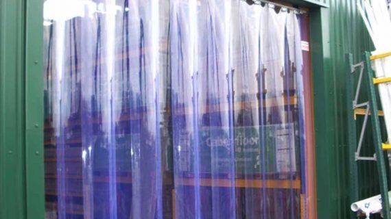 Strip Curtain PVC Atau Tirai Transparan Untuk Pabrik