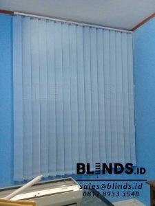 Contoh Vertical Blinds Bahan Dimout Sp. 8007-4 Beige Q3690