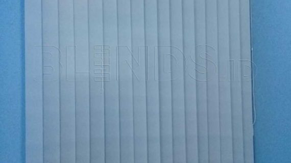 Contoh Vertical Blinds Bahan Dimout Beige Di Pulo Gadung