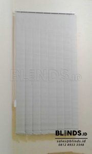 Dimout Vertical Blinds Sp. 8007-6 Grey Projet Tebet Q3677