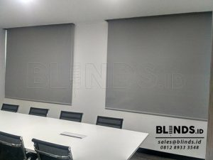 Roller Blinds Blackout Superior Sp. 6045-3 Grey Di Sudirman Q3684