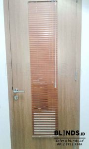 Venetian Blinds Wood Motive Slatting 25 mm Di Cipete Q3625