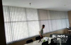 Jual Vertical Blinds Semi Blackout Sp. 8370-8 Dark Grey Q3702