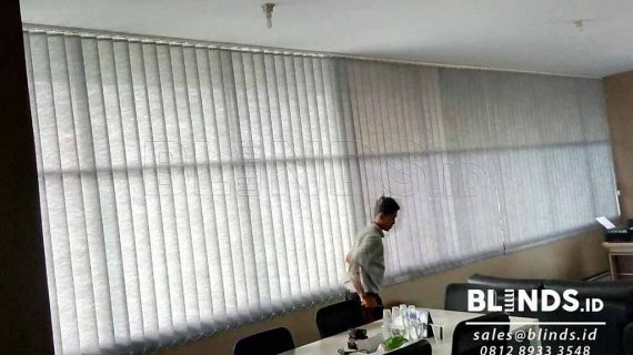 Jual Vertical Blinds Semi Blackout Di Bitung