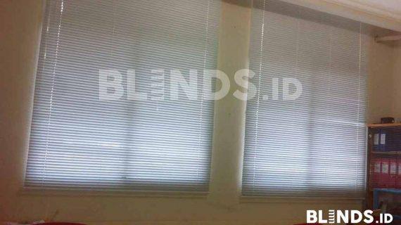 Slimline Blinds Pesanan Klien Di Bekasi