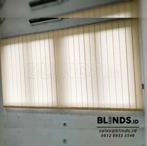 Vertical Blinds Dimout Sp 8000-7 BEIGE Project Cibitung Q3786