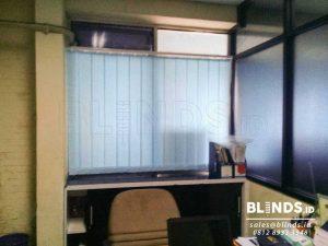 Vertical Blinds Dimout Sp. 8003-4 blue Sharp Point Q3727
