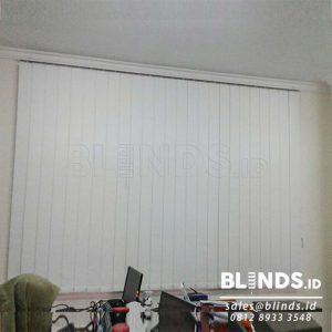 Blackout Vertical Blinds Sp. 6077-1 Ice Saharp Point Di Bekasi Q3827