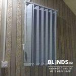 Blackout Vertical Blinds Grey Jakarta Utara