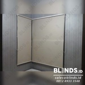 Roller Blinds Blackout Super Quality Sp.6044-2 Beige di Casablanca Q3914