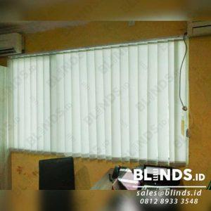 Vertical Blinds Bahan Dimout Sp. 707-2 Silk Grey Q3947