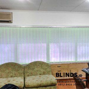 Vertical Blinds Dimout Sp 8001-5 Green Di Cempaka Putih Q3813