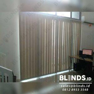 Vertical Blinds Dimout Sp.505 - 6 Beige Sharp Point Jakarta Barat Q3932