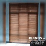 Wooden Blinds Tropical Hard Wood Pasang Di Pejaten