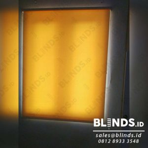 roller blinds semi blackout Sp.5444-1 cream merk sharp point di cikini Q3916