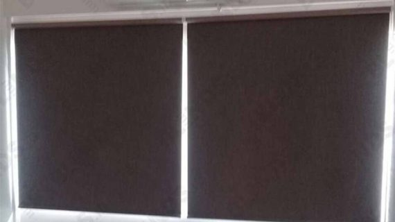 Contoh Roller Blinds Blackout Super Quality Taman Giri Loka