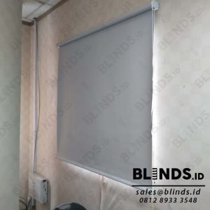 Harga Roller Blinds Blackout Superior Sp.6045 - 3 Grey di Mampang Q3880