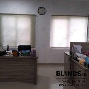 Roller Blinds Dimout Superior Sp.707-2 Silk Grey di Tapos Depok Q3948