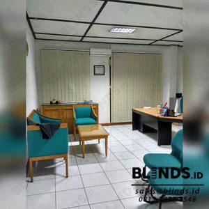 Vertical Blinds Dimout Sp.8008-7 Beige Sharp Point Di Kebagusan Q3850