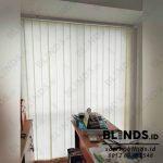 Vertical Blinds Seri Standar Pasang Mansion Fontana Kemayoran