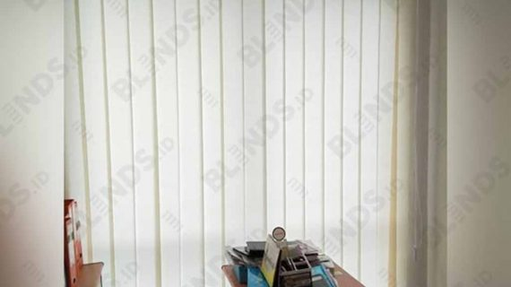 Vertical Blinds Seri Standar Pasang Mansion Fontana Kemayoran