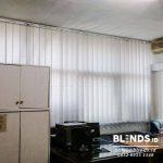 Contoh Vertical Blinds Grey Dimout Di Balai Pustaka Rawamangun