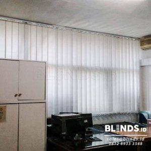 Contoh Vertical Blinds Dimout Sp.8010 - 6 Grey Di Rawamangun Q3798
