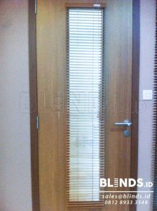 harga wooden blinds one adjusted 25mm shinichi Q3535
