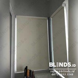 roller blinds blackout superior sp.6077-2 coconut di Kota Wisata Cibubur id4076