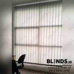 Vertical Blinds Dimout 127mm Grey Di Laverde Serpong Utara