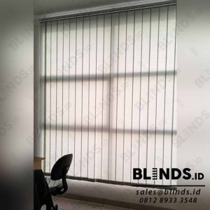 Vertical Blinds Dimout 127mm Sp.8003- 6 Grey id4113