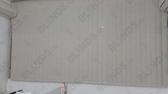 Vertical Blinds Solar Screen Series 1004 Ruko Harmoni Jembatan Dua