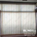Vertical Blinds Bahan Dimout Peach Di Kementerian Pertahanan