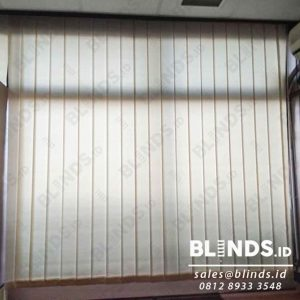 Vertical blinds bahan dimout 127mm Sp.8001-7 peach id4086