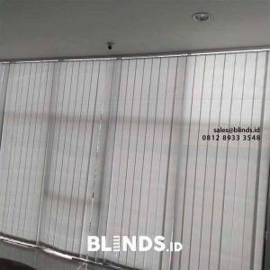 Vertical blinds dimout 127mm sp.8001-6 grey pasang di Radio Dalam id4100