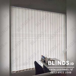 vertical blinds jakarta bahan dimout sp.8000-2 off white id4124
