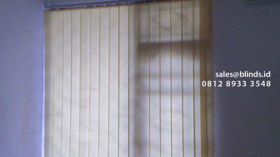 Harga Vertical Blinds Bahan Dimout Kebon Nanas Cipinang